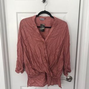Anthropologie crossover top